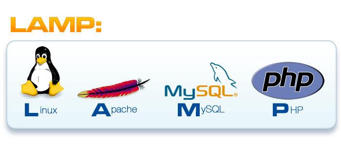 ترکیب زبان برنامه نویسی PHP و سیستم MYSQL و وبسرویس آپاچی بر روی سرور لینوکس به شما دراصطلاح LAMP را ارائه میدهد.