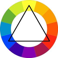 طرح رنگی سهگانه