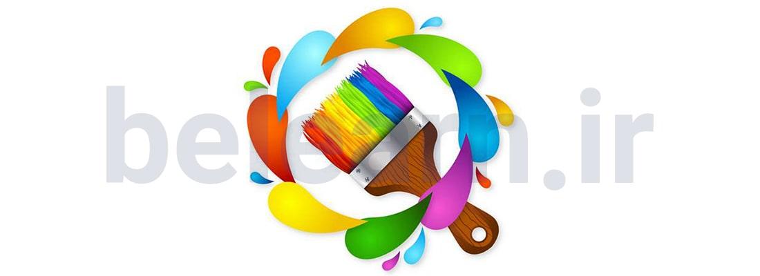 6 نکته در انتخاب رنگ های سایت  | بی لرن