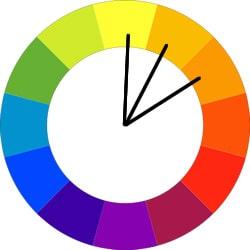 طرح رنگی مشابه | بی لرن