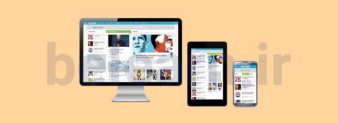 اصول طراحی سایت واکنش گرا | بی لرن