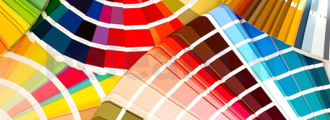 پالت رنگی در تئوری رنگ ها در طراحی سایت | بی لرن