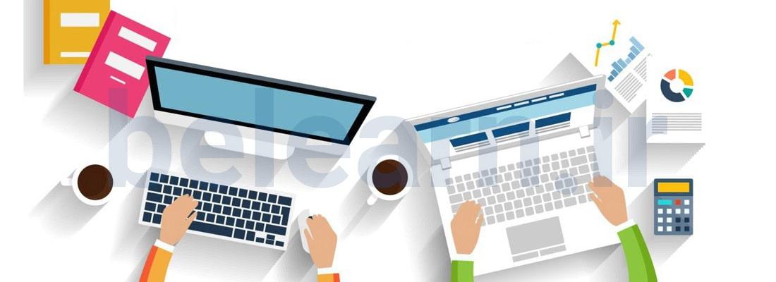 شروع طراحی وب سایت مراحل طراحی وب سایت | بی لرن