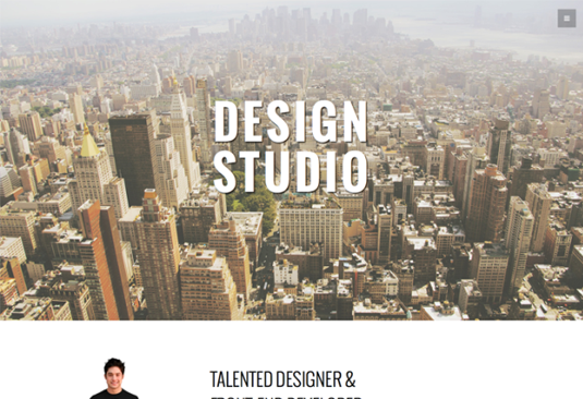 Studio - نمونه قالب سایت طراحی شده با بوت استرپ | بی لرن