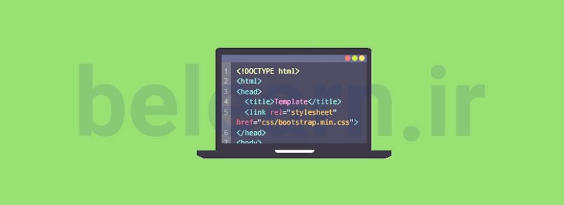 انتخاب بوت استرپ - نمونه سایت طراحی شده با بوت استرپ | بی لرن