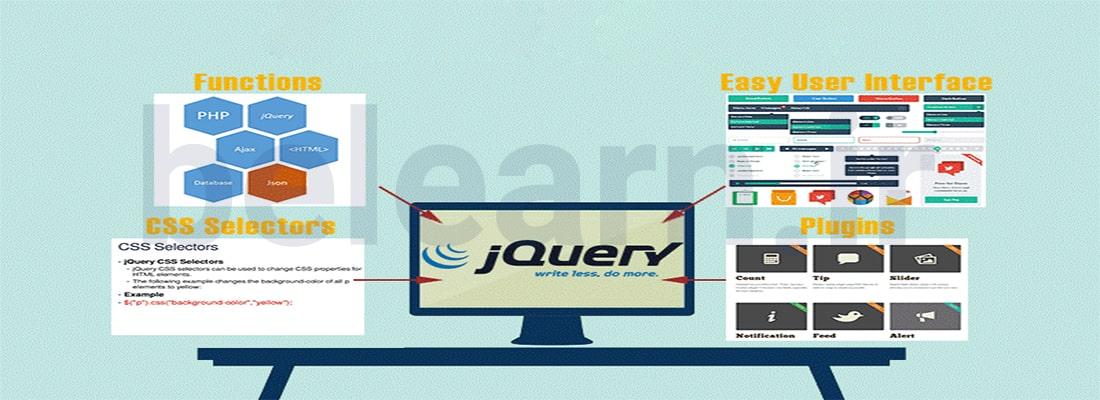 کاربرد های فریمورک jQuery | بی لرن